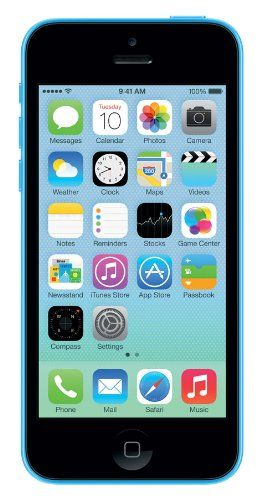 Black Friday Apple iPhone 5C 32GB Sim Free Unlocked Mobile Phone -Blue Deals week 3380