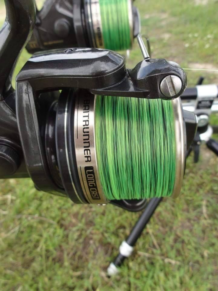 Spooled Synapse Eclipse line, on Shimano reel