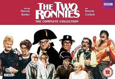 The Two Ronnies Box Set Complete Collection Region 2,4 PAL (Not US)