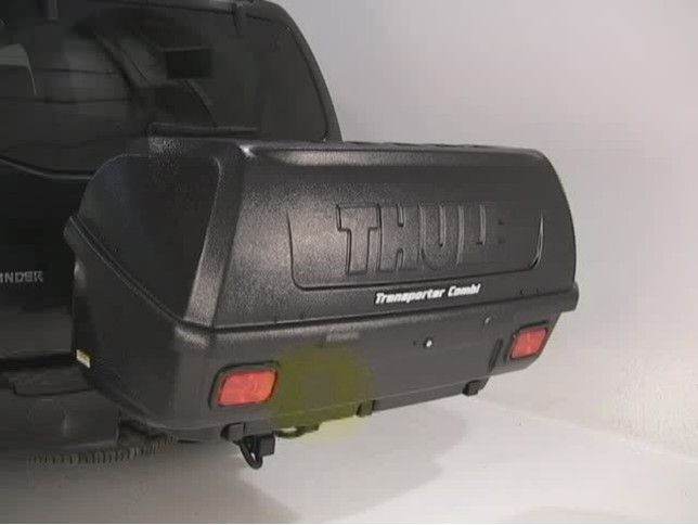Tilting Thule Hitch Cargo Carrier