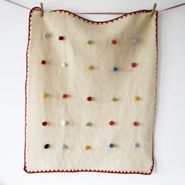 this could be a great blanket for a baby to play with