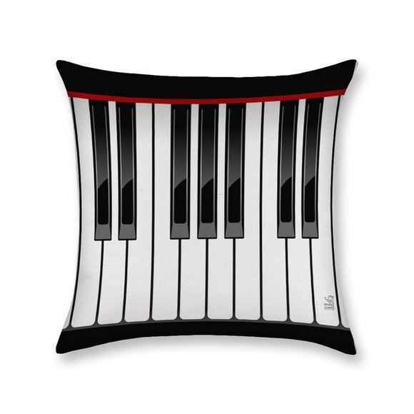 Capa De Almofada Piano