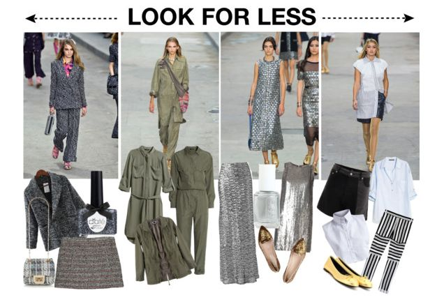 Check out the low down on the Chanel SS15 show and how to get the runway trends on a real girl budget.