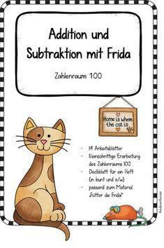 Arbeitsblätter mit Frida - Addition und Subtraktion im Zahlenraum ...