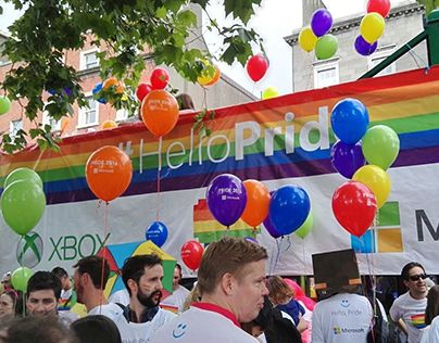 "Check out new work on my @Behance portfolio: ""Design for Microsoft @ Dublin Pride Parade 2016"" http://be.net/gallery/40344613/Design-for-Microsoft-Dublin-Pride-Parade-2016"
