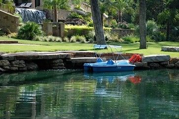 Pond dock house ideas pond with large ledge stone boat for Pond pier plans