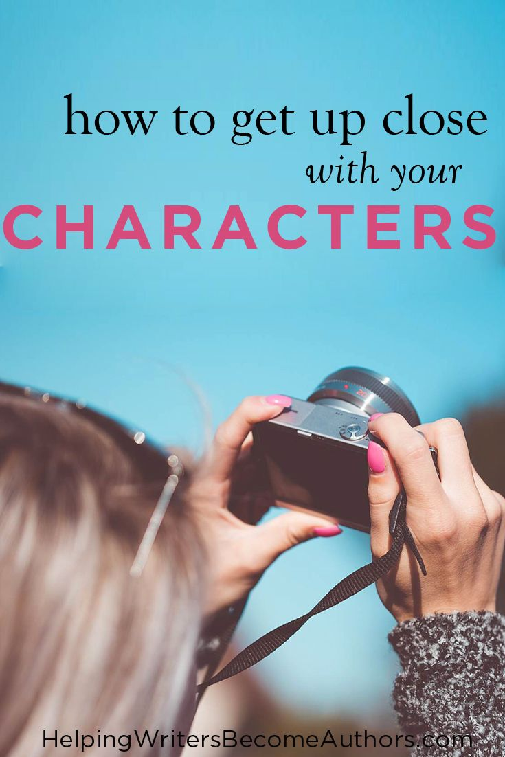"Discover three methods to ""meet"" your characters in fascinatingly visual and enlightening ways, so you can better bring them to life in your stories."