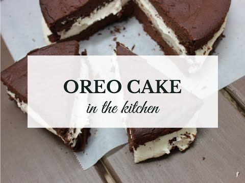AMAZING sugar-free oreo cake (gluten free, grain free, vegan) - YouTube