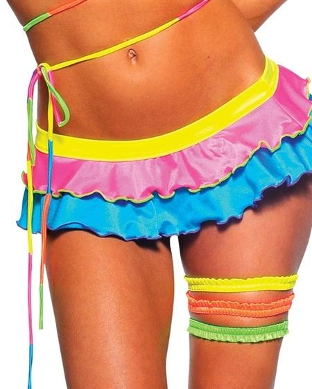 Neon Techno Skirt
