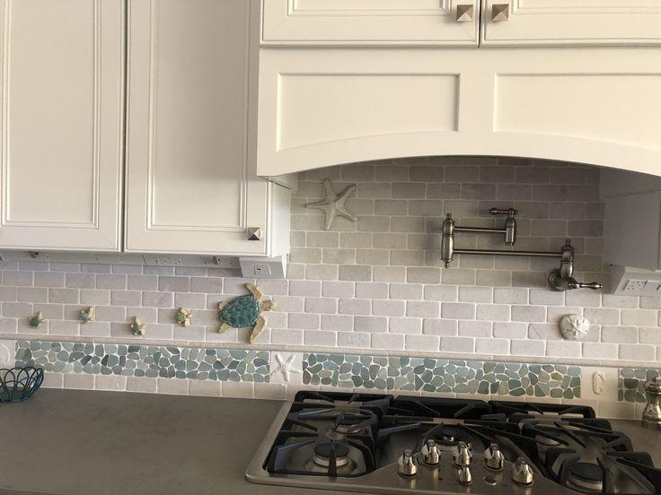 122 Best Backsplash Ideas Pebble And Stone Tile Images On Pinterest Floors Of Quarry Tiles