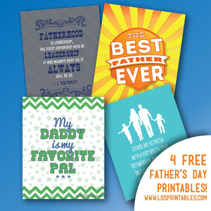 lds primary father's day crafts