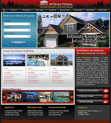 Property Agent website design and development