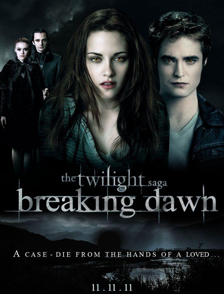 twilight | Twilight - Chapitre 4 : Révélation - partie 1 : Affiche du film ...