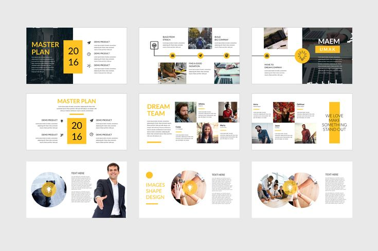 Umak Powerpoint Template by Comodensis on @creativemarket