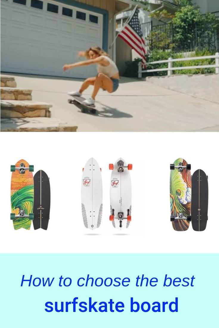 How To Choose The Best Surf Skateboard Surfing Carver Skateboard Skateboard