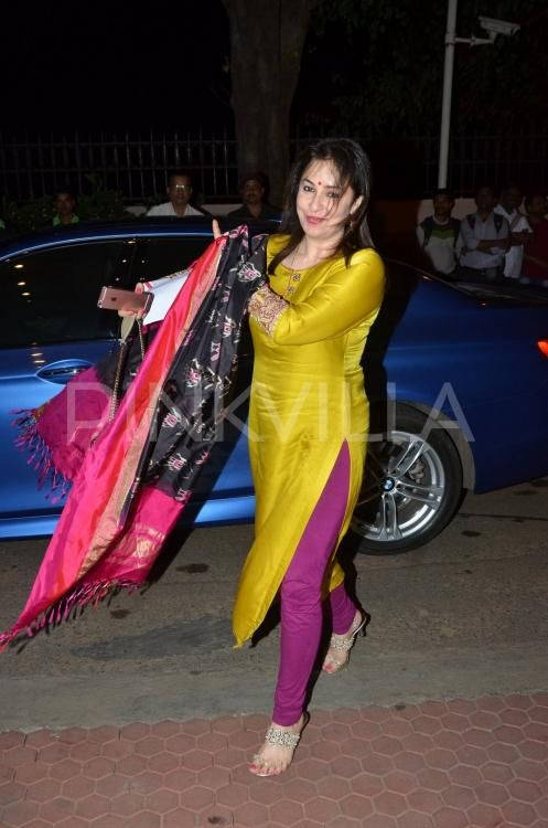 Sridevi, Boney Kapoor, Rishi Kapoor, and Randhir Kapoor were some of the stars who watched Firoz Abbas Khan's Broadway-styled musical play Mughal-e-A...