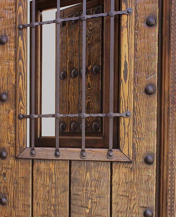 Puertas rusticas madera excellent vidrieras para puertas - Puertas rusticas de madera ...