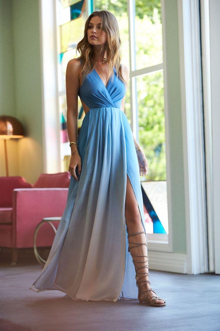 The Jetset Diaries x REVOLVE Caribbean Ombre Maxi Dress