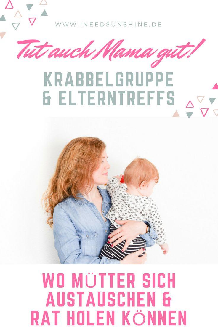 Leben mit Baby & Kleinkind: Tipps für den Austausch unter Müttern. Wo sich Mamas Rat holen können. Gute Gründe für den Besuch in der Krabbelgruppe oder im Elterntreff auf I need sunshine Mamablog. Schaut mal!