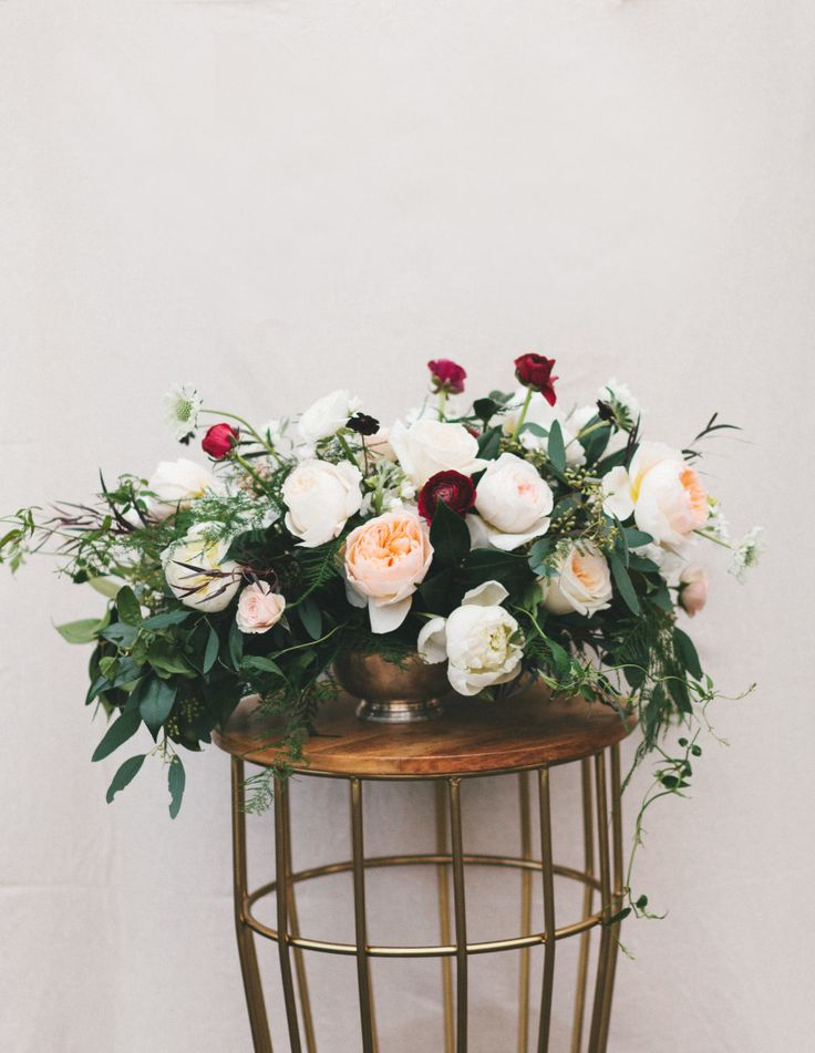 Whimsical centerpiece: http://www.stylemepretty.com/living/2015/05/09/17-fabulous-diy-flower-arrangements/