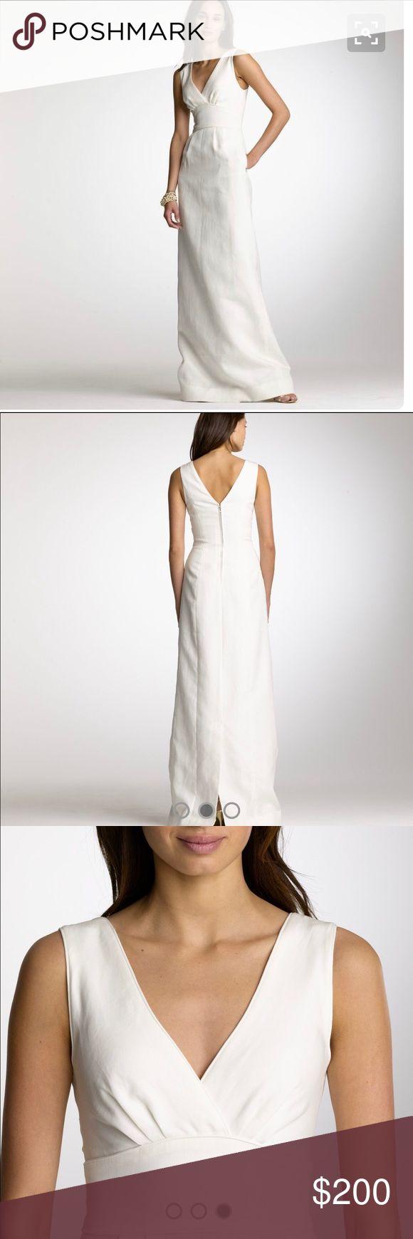 Selling this J Crew Alexa wedding dress on Poshmark! My username is: dlouisey. #shopmycloset #poshmark #fashion #shopping #style #forsale #j crew #Dresses & Skirts