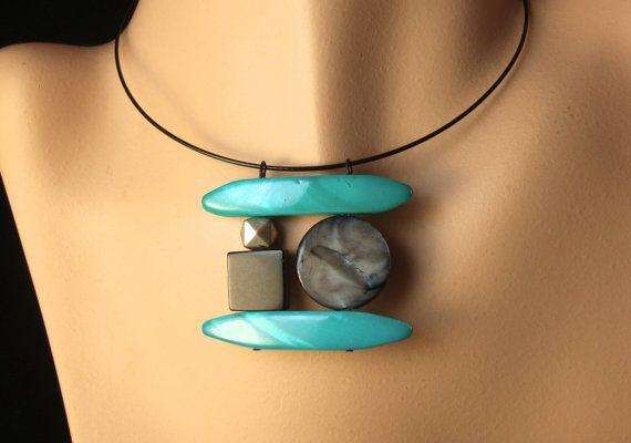 Crepuscolo blu collana di BlueDonya su Etsy