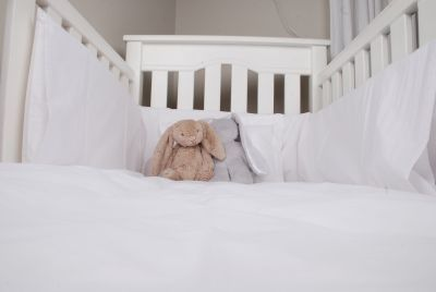 Tom & Bella Cot Duvet Cover And Baby Pillowcase Set - Oxford:
