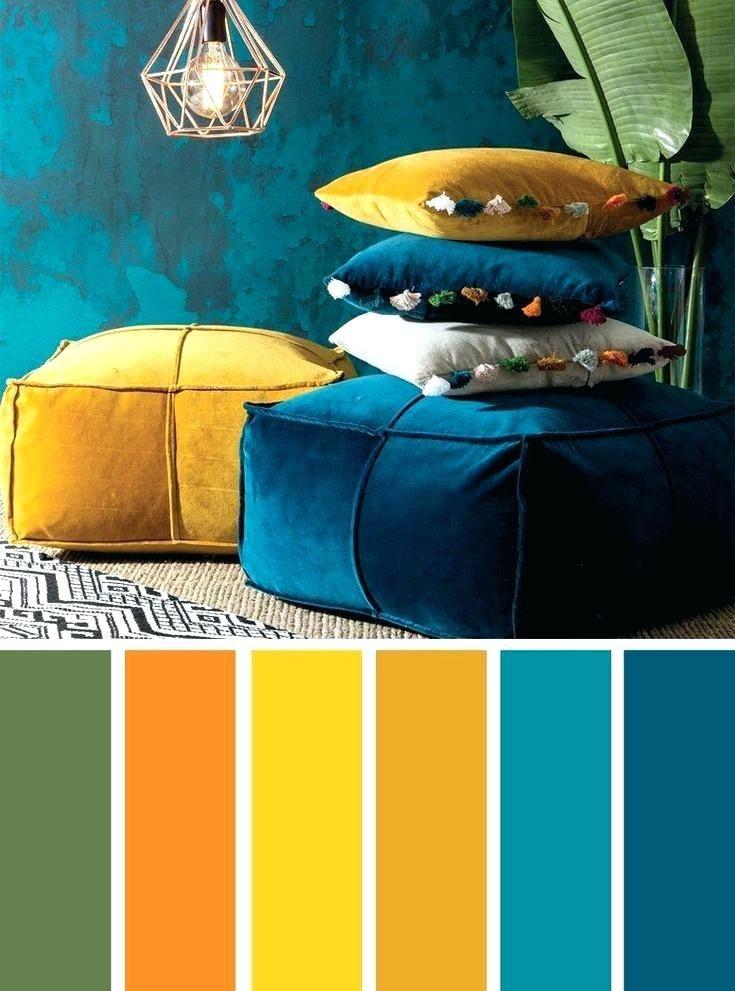 Image Result For Bohemian Color Scheme Living Room Color Schemes Mustard Color Scheme Turquoise Room