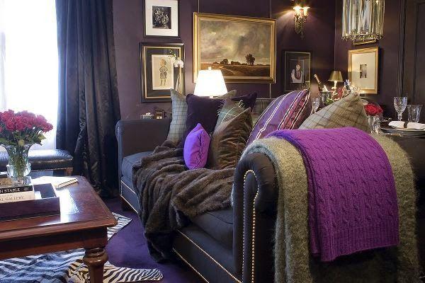 1000 Images About Purple Interiors Plum Lavender Grape Lilac On Pintere