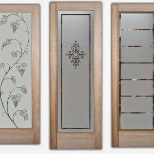 Frosted Glass Door Stencils