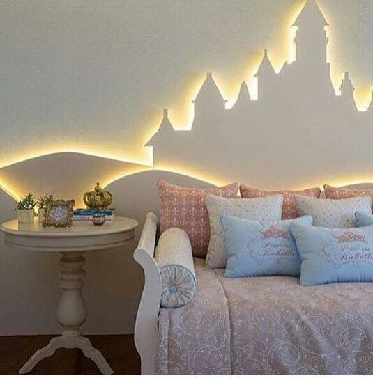Castelo -Iluminação de painel