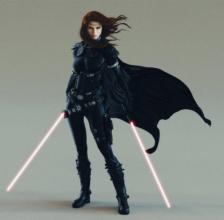Sci-Fi Art: Mara Jade - Digital ArtCoolvibe – Digital Art