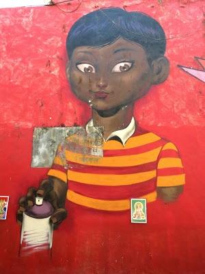 BombayJules: Worli Fishing Village - Street Art
