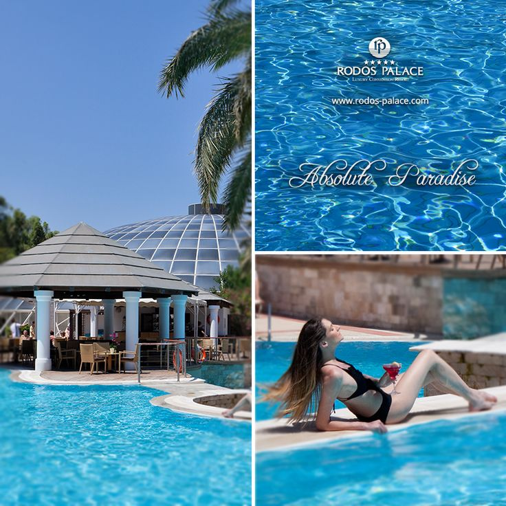 The Rodos Palace Hotel outdoor swimming pools are your ticket to a paradise of work-free holidays...  #hotel #holidays #Rodos #rhodes #Greece #5star #luxury #luxurytravel #trevel #Mediterranenan #vacation #coctails #pool