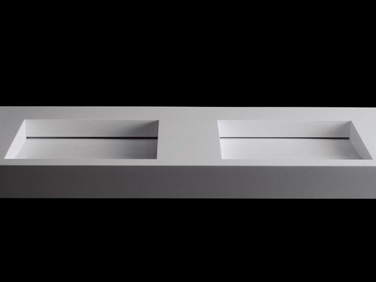 17 mejores ideas sobre lavabo doble en pinterest tocador - Lavabos dobles sobre encimera ...
