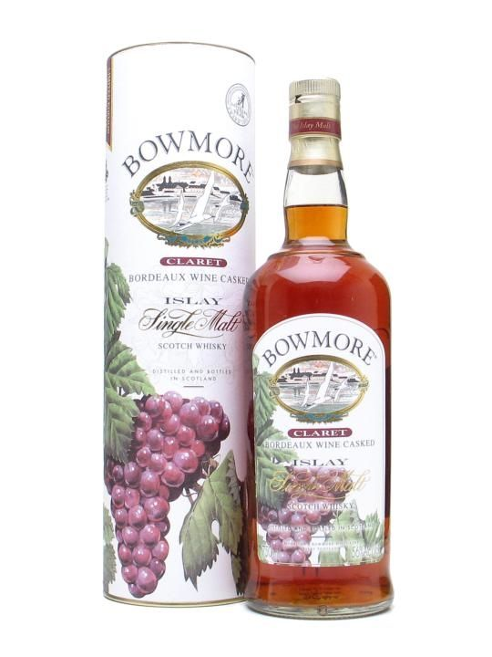 Bowmore Claret / Bordeaux Wine Cask Scotch Whisky : The Whisky Exchange