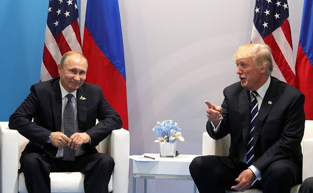 """July 8, 2017 Putin Said: """"The US President and I have agreed to establish a working group and make joint efforts to monitor security in the cyberspace, ensure full compliance with international laws in this area, and to prevent interference in countries' internal affairs. Primarily this concerns Russia and the United States. We believe that if we succeed in organising this work – and I have no doubt that we will – there will be no more speculation over this matter. As regards ..MORE..."""