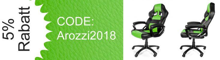 5% Rabatt auf Arozzi Gaming Stühle #gaming #discount  #cheap #deals #technology #shopping