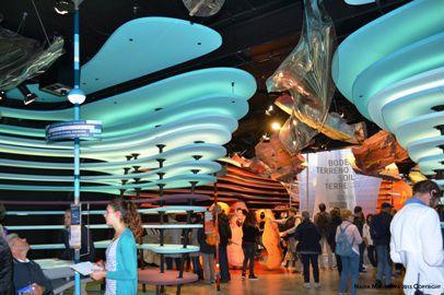 Nadia Mikushova. Internal exposition at the Germany EXPO Milano 2015 pavilion.