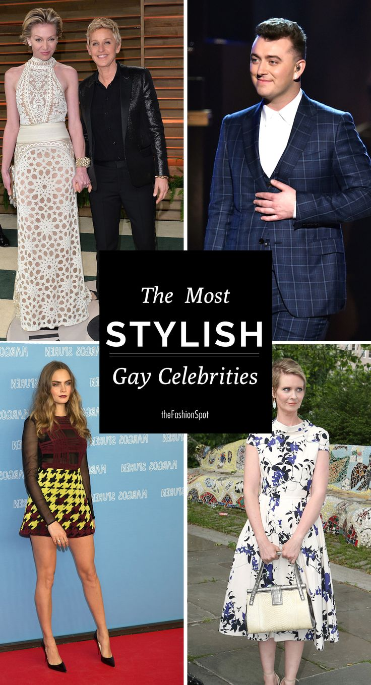 The most stylish gay celebrities in Hollywood
