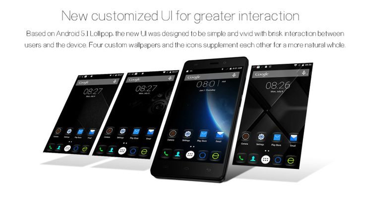 EU Direct   (UK Warehouse) DOOGEE X5 5-inch Android 5.1 MTK6580 Quad-core Smartphone