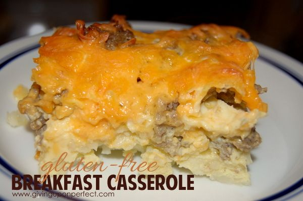 Easy Easy Casserole Breakfast Casserole with Hashbrowns & Sausage