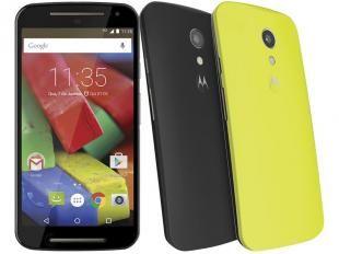 """Smartphone Motorola Moto G 2° Geração Colors Dual - Chip 4G Android 5.0 Câm. 8MP Tela 5"""" HD Desb Claro"""