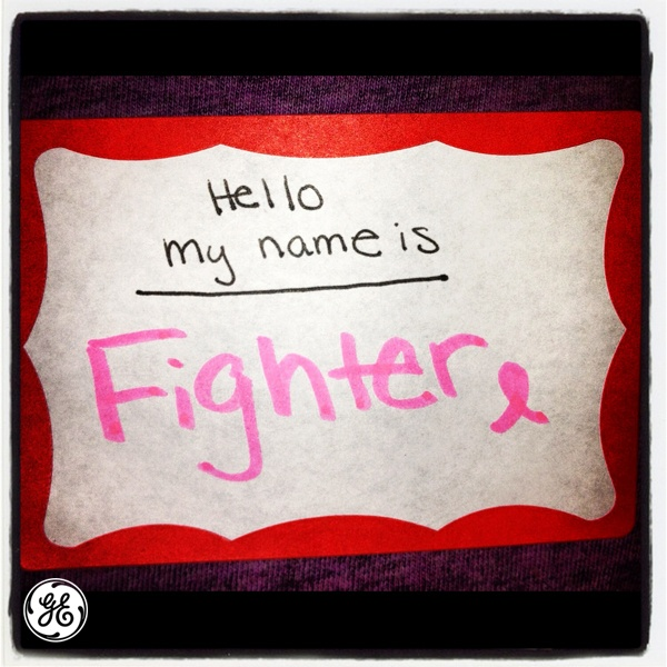 Repin if you're a breast cancer fighter!
