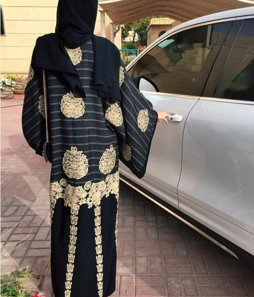 abaya, Dubai, and hijab image