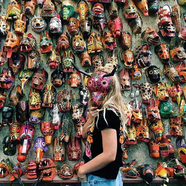 We create a mask to meet the masks of others. Then we wonder why we cannot love, and why we feel so alone  #perhapsyouneedalittleguatemala