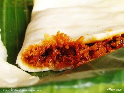 Ela Ada –Sweet Rice-flour Parcels in Banana Leaf