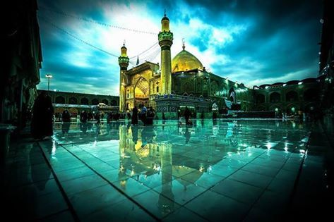 Imam Ali shrine and Mosque in Najaf province, Iraq