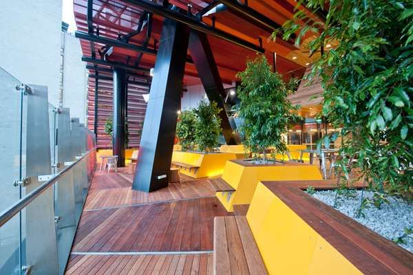 The Rmit University Student Portal Space is Stylish and Studious #office #workplace trendhunter.com