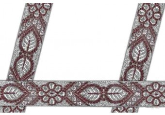 This Jacquard ribbon ( woven jacquard braid ribbon ) comes with Plain decoration widely used by Apparel & Clothing Industry